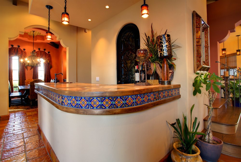Architecture Home Cimarron hacienda bar