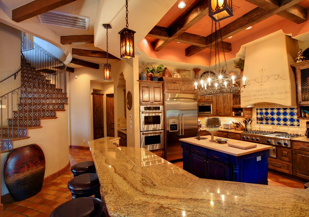 Architecture Home Cimarron hacienda kitchen