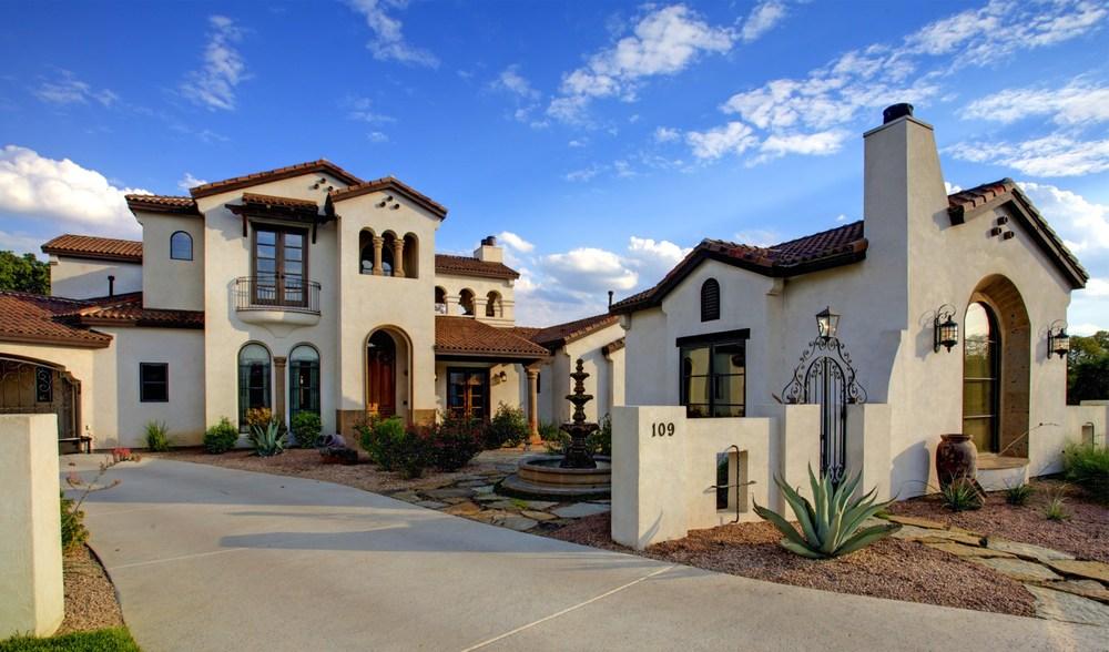 Architecture Home Cimarron hacienda exterior