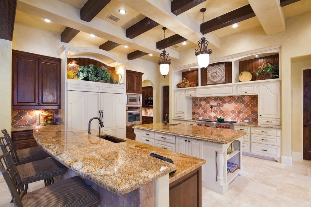 Architecture Home Texas tuscan kitchen