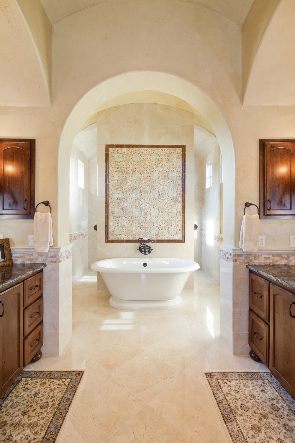 Architecture Home Texas tuscan bathroom