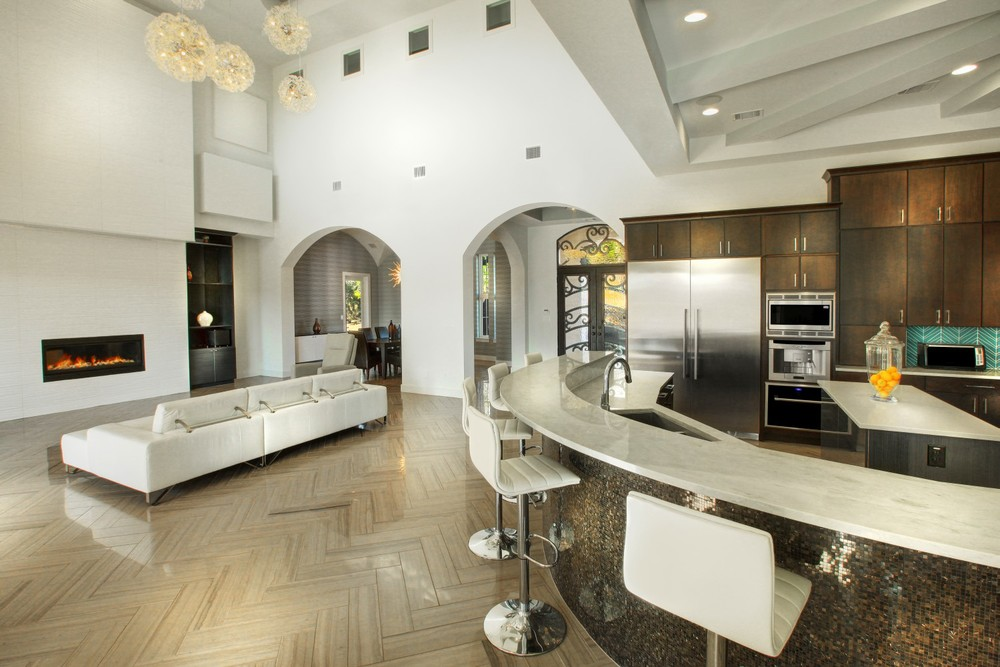 Architecture Home Contemporary modern kitchen family