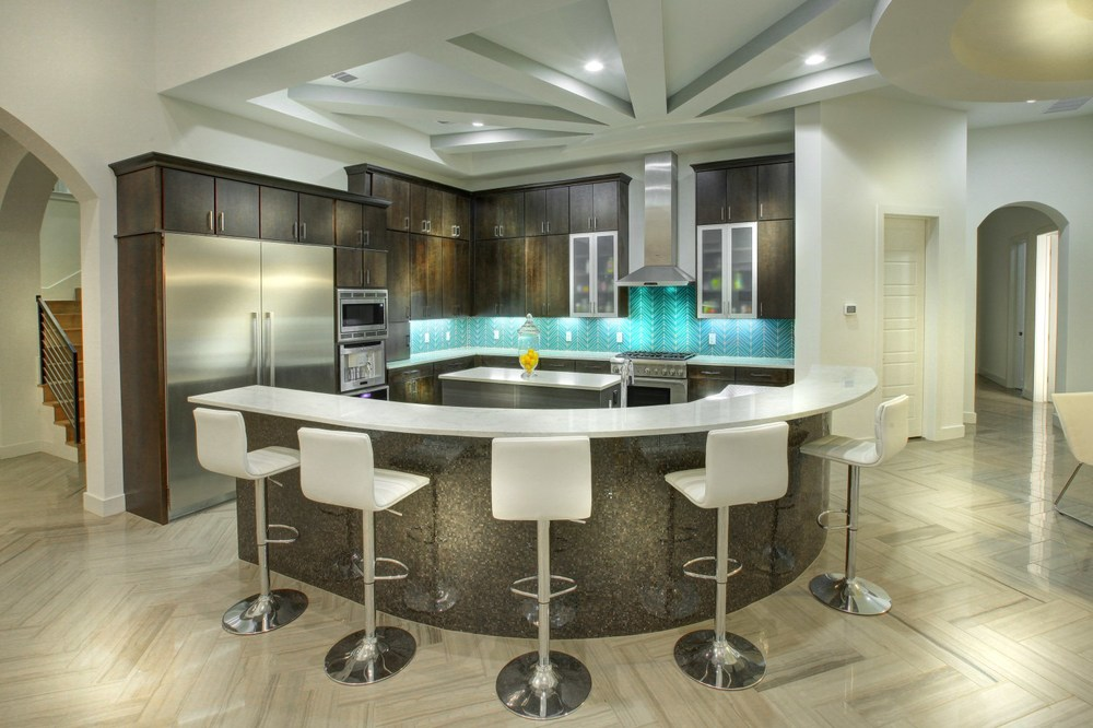 Architecture Home Contemporary modern kitchen