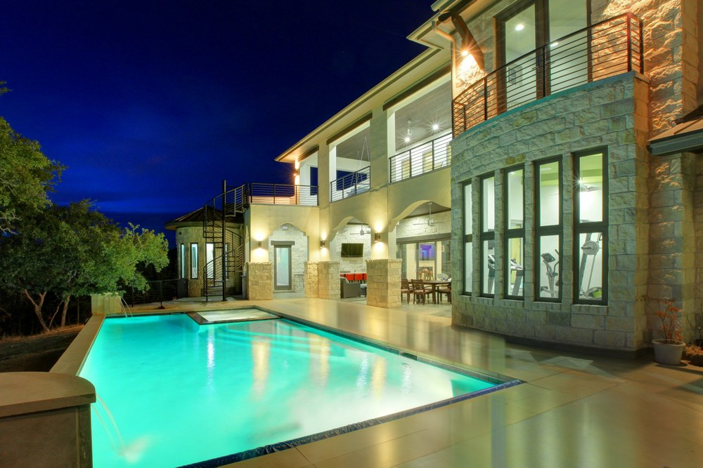 Architecture Home Contemporary modern pool