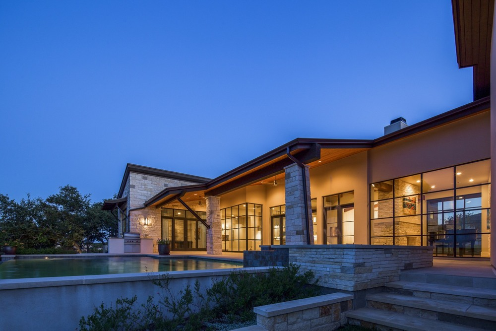 Architecture Home Contemporary hacienda exterior
