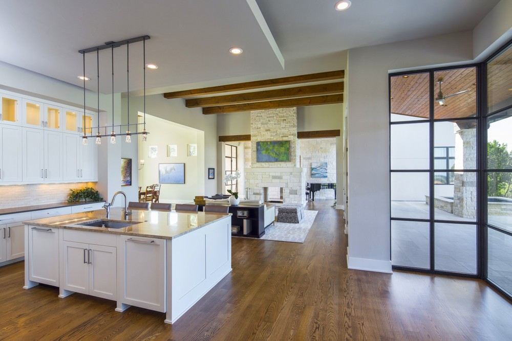 Architecture Home Contemporary hacienda kitchen