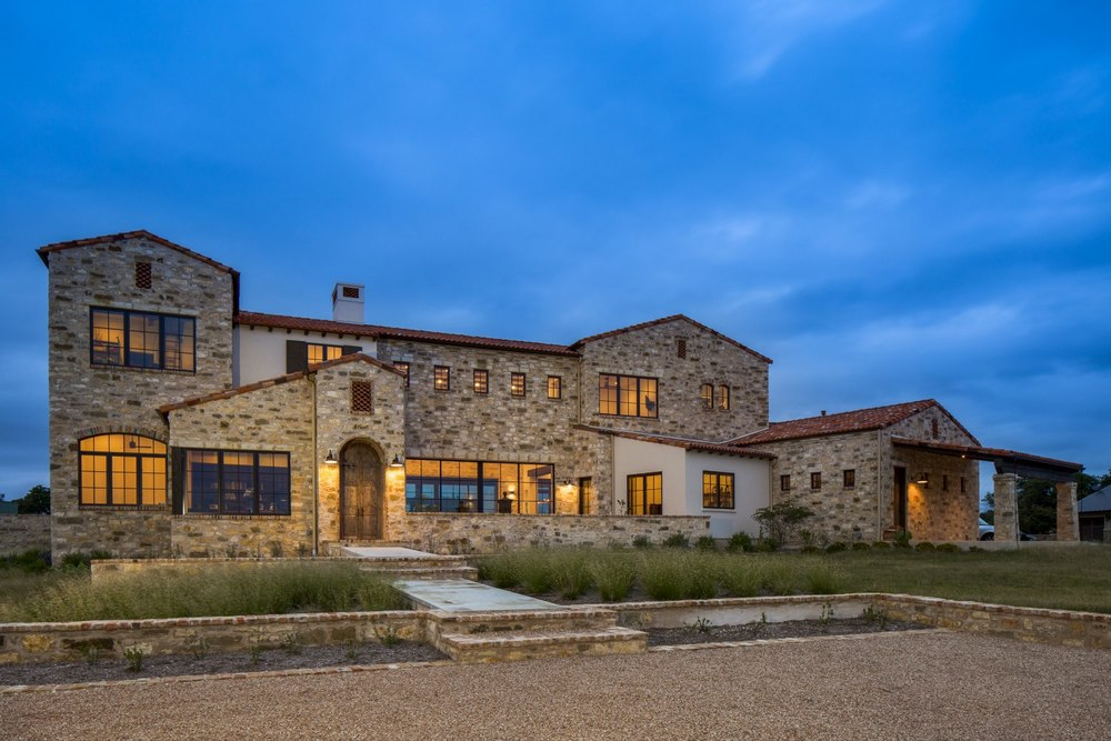 Architecture Home Contemporary italian farmhouse exterior