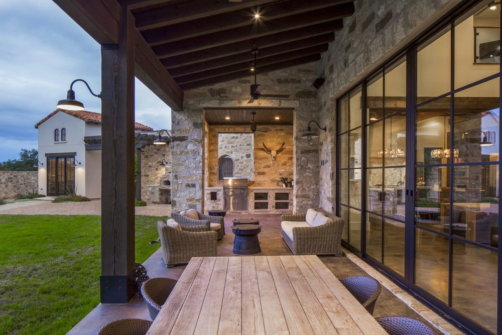 Architecture Home Contemporary italian farmhouse porch