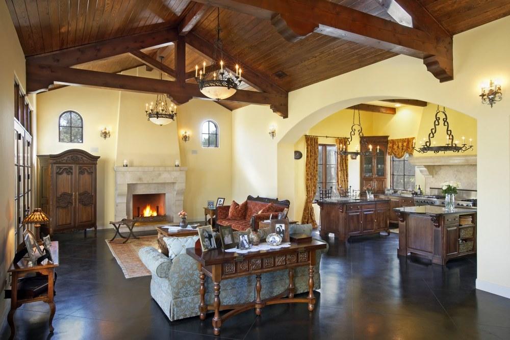 Architecture Home Umbrian Villa living