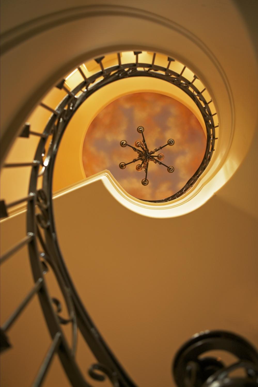 Architecture Home Shore Oaks staircase