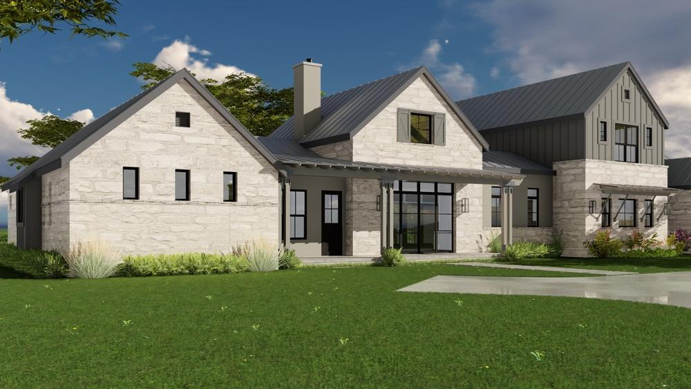 Vanguard studio inc austin texas architect for Texas farmhouse builders