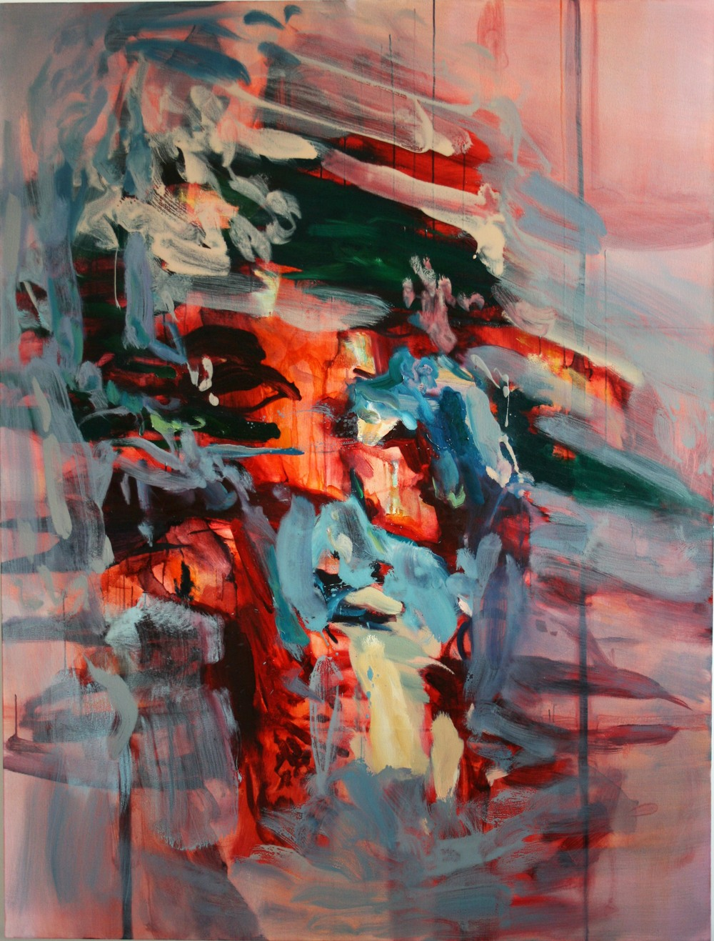 Untitled #1  2011  oil on canvas  154 x 117 cm