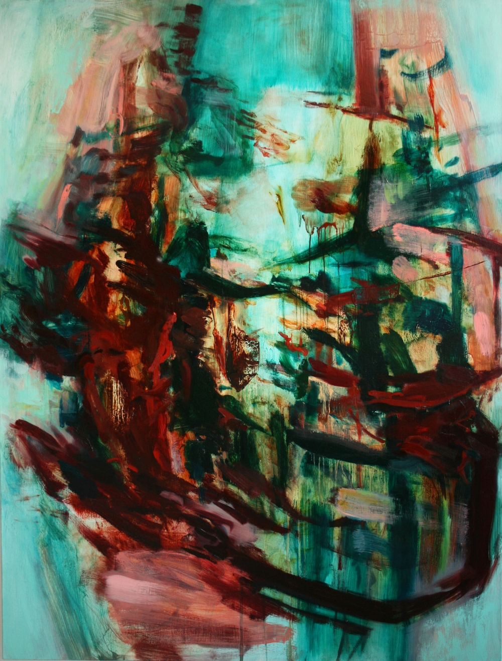 Untitled #2  2011  oil on canvas  154 x 117 cm