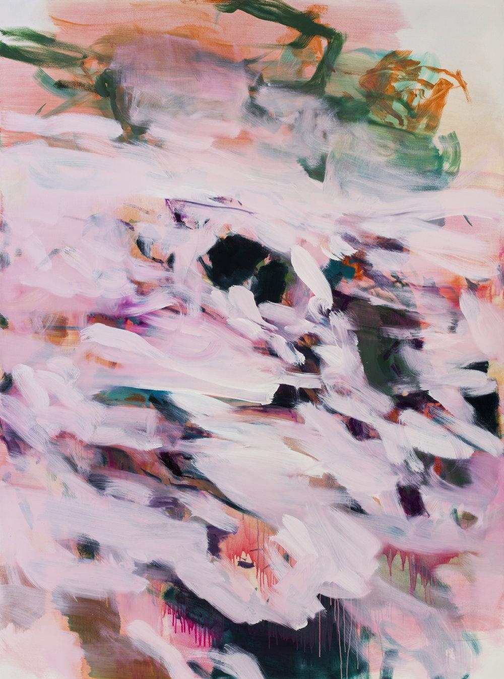 Drift  2017  Oil on canvas  199 x 148cm