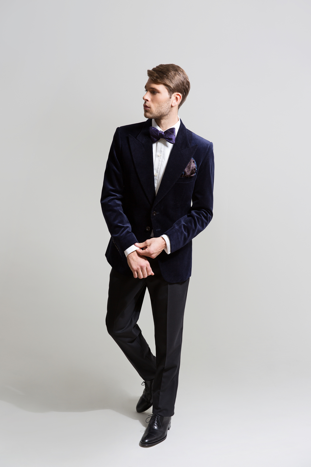 ICONIC MIDNIGHT BLUE EVENING JACKET