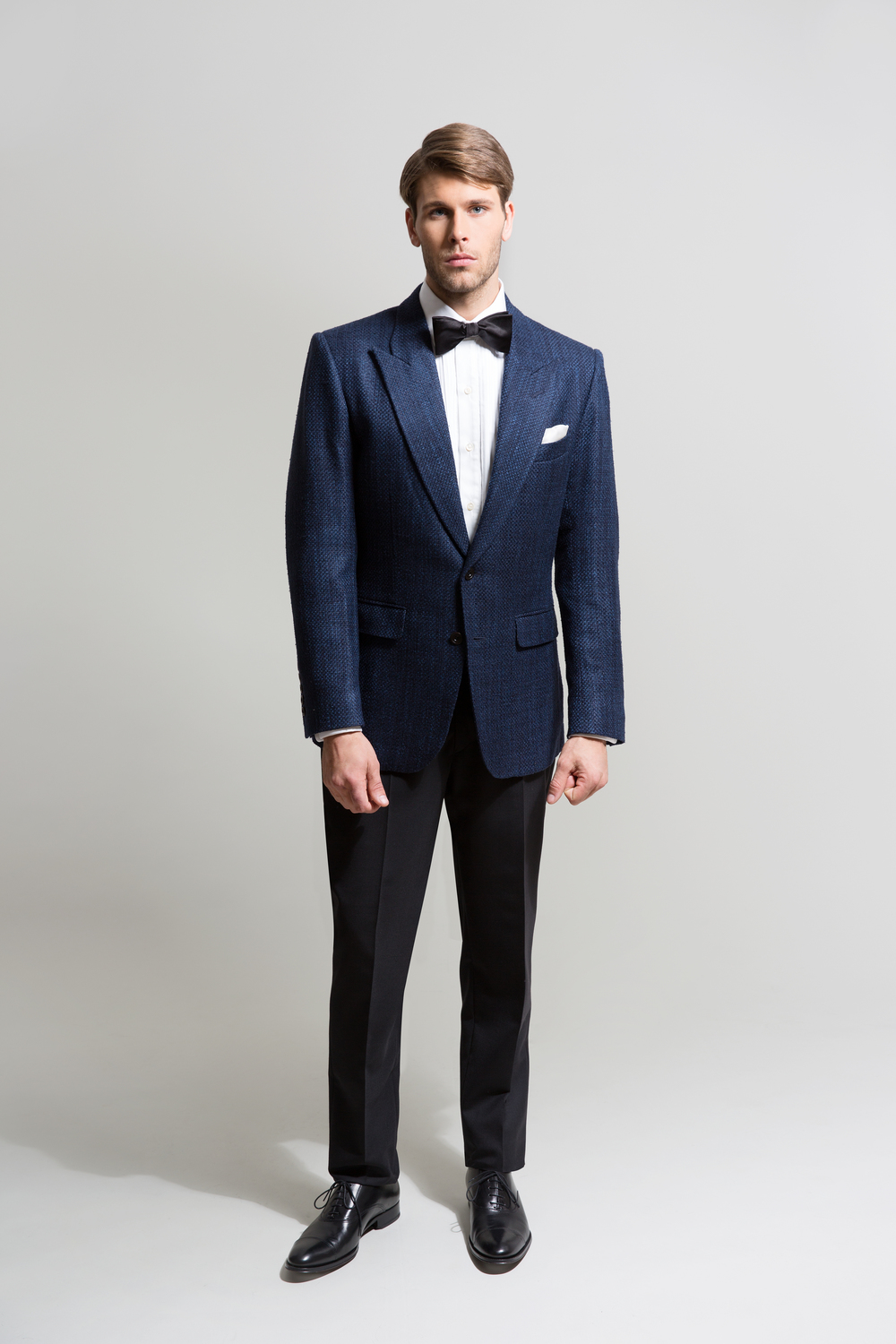 NAVY STANDOUT EVENING BLAZER