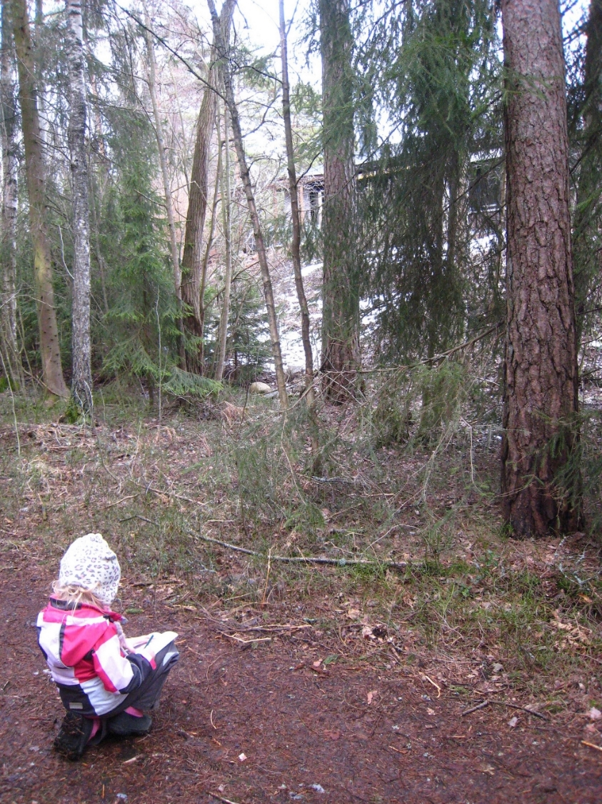 A Tiger Artist from Your School in Espoo, Finland gets inspired on our nature walk. With Aya Obayashi & Arlene Tucker.