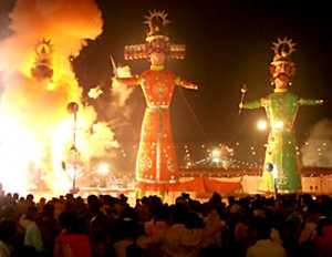 Dussehra Festival is full of light! http://aboutfestivalsofindia.com/community-festivals/hindu-festivals/dussehra/