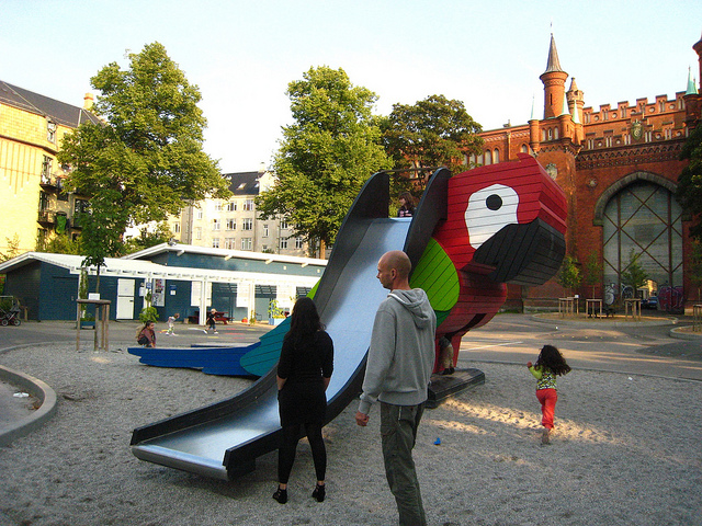 I loved the playgrounds in Denmark