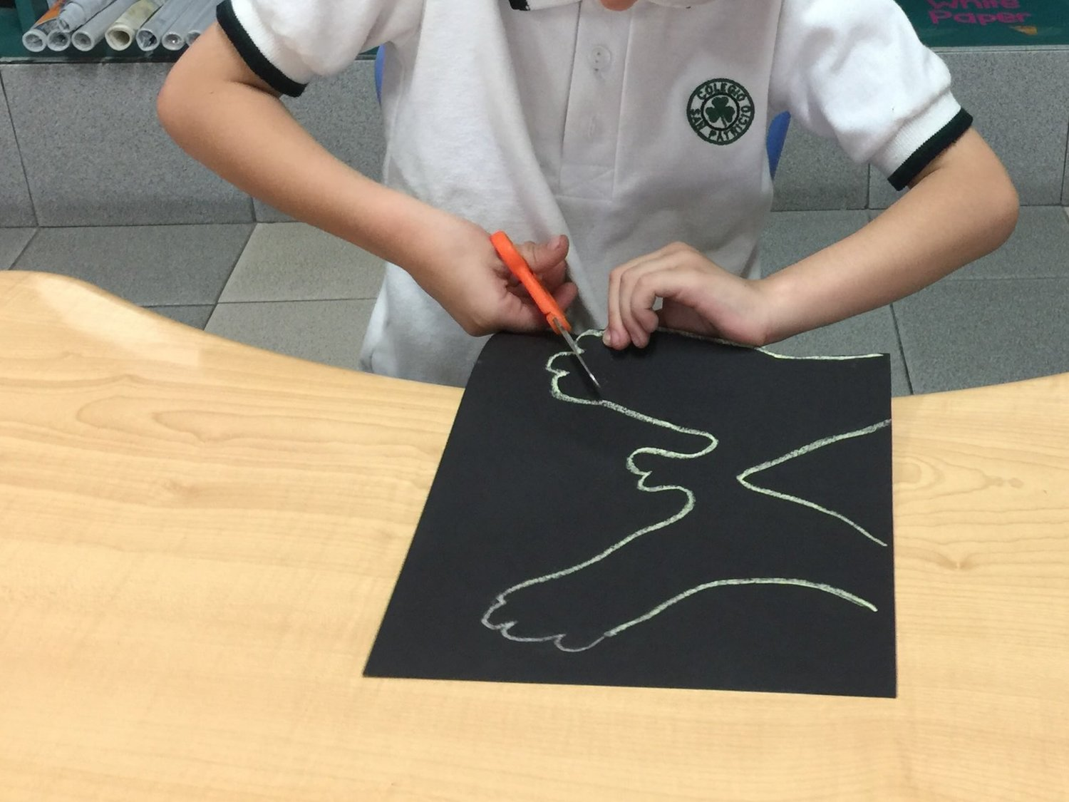 2a975293 The 6 year olds in Prepri C from Colegio San Patricio in Monterrey, Mexico  are making and sharing art with the 4-6 year olds in KG2C from Collegiate  ...
