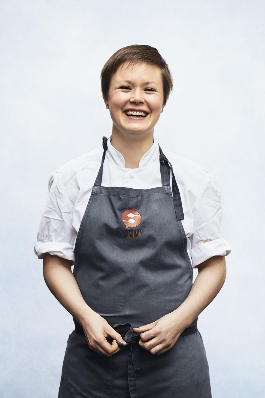 Karla Siverts, kjøkkensjef på Smalhans
