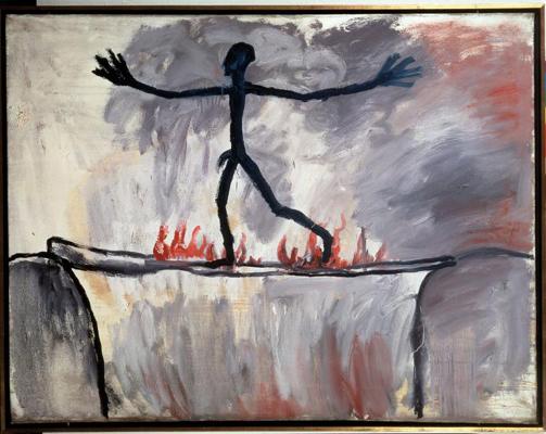 A.R. Penck, The Passage, 1963