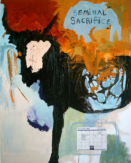 Christopher Hall,  Seminal Sacrifice , 2007