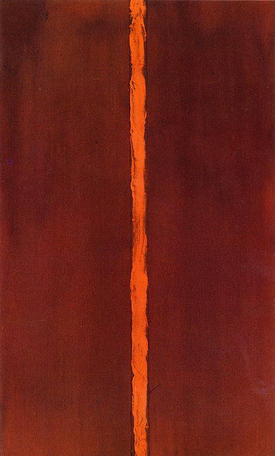 Barnett Newman,  Onement I , 1948