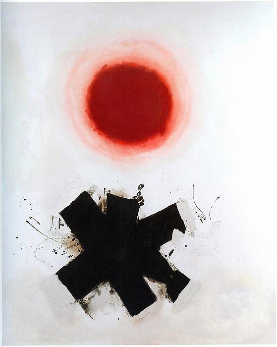 Adolph Gottlieb,  Swirl , 1968