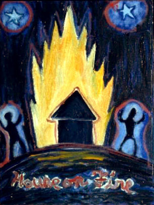Christopher Hall,  House on Fire , c 1999