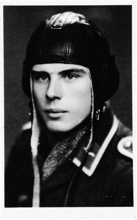 A young Joseph Beuys in the Luftwaffe