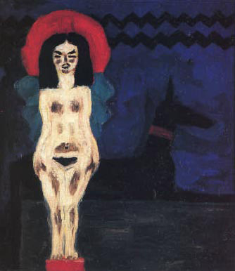 nolde figure with dog 1912.jpg