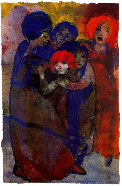 Emil Nolde - Group with Children.jpg