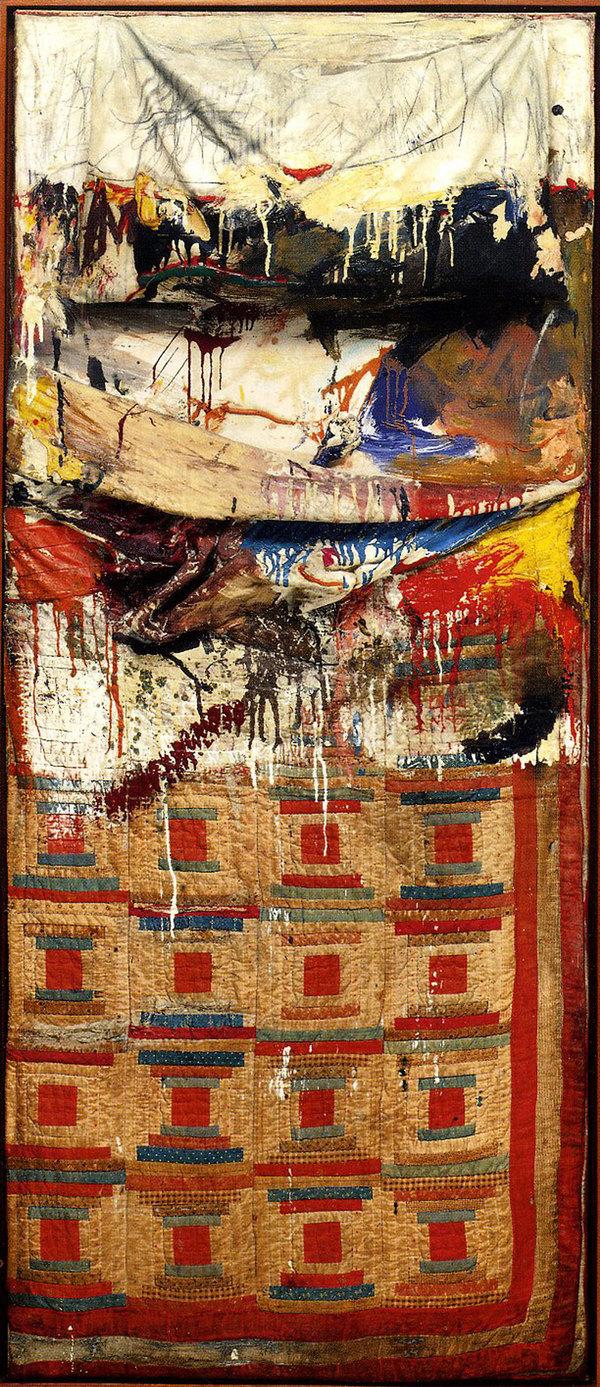 Robert Rauschenberg, Bed , 1955
