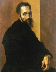Michelangelo Buonarroti, Self-Portrait