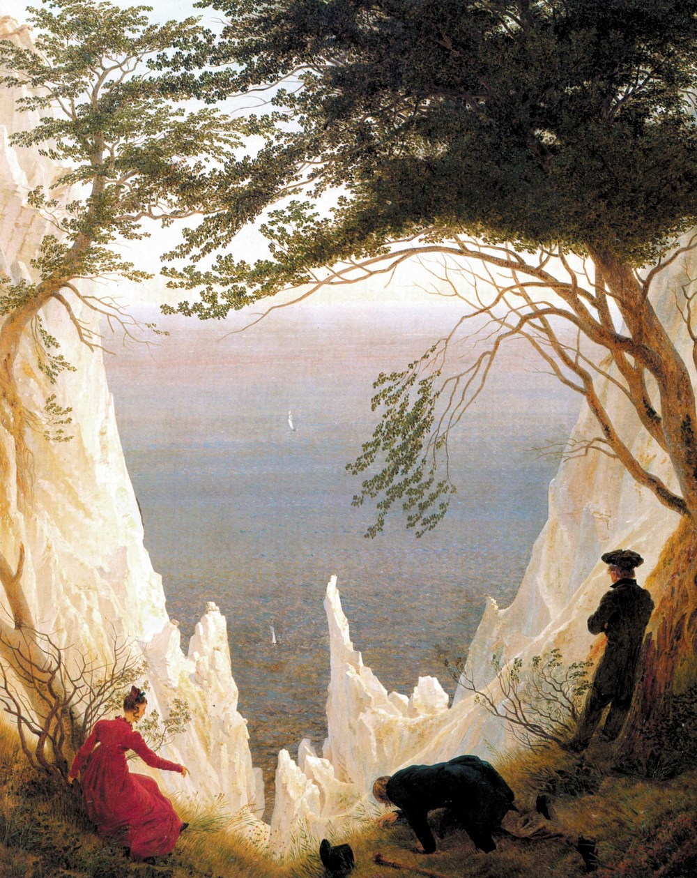 Chalk Cliffs of Rugen , 1818
