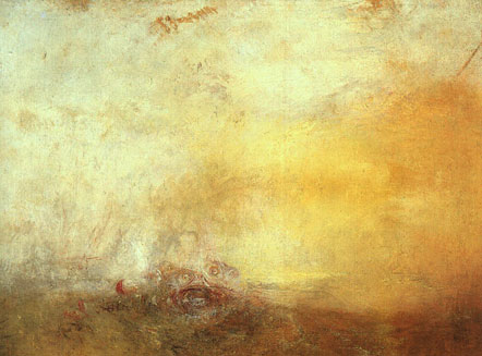 Sunrise with Sea Monsters , 1845