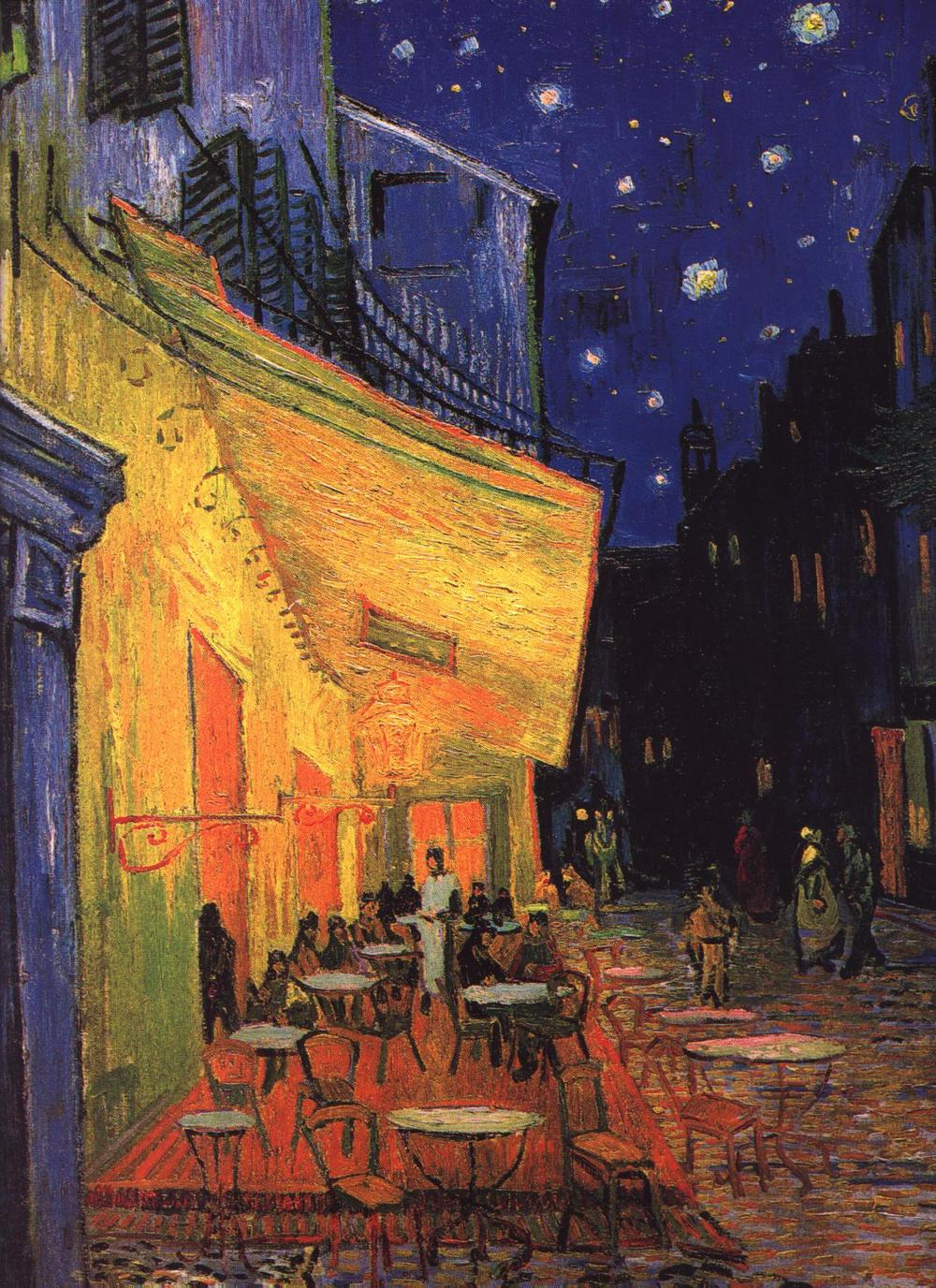 Cafe Terrace at Night , 1888