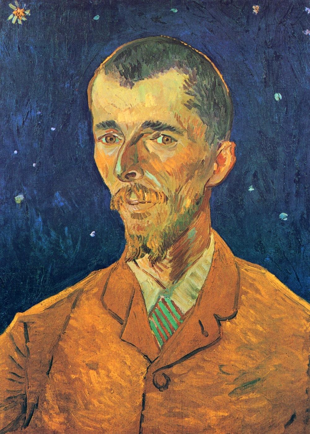 Portrait of Eugene Boch , 1888