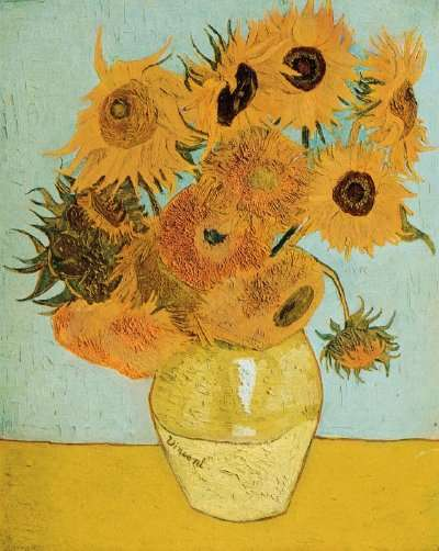 Still Life with Twelve Sunflowers , 1889