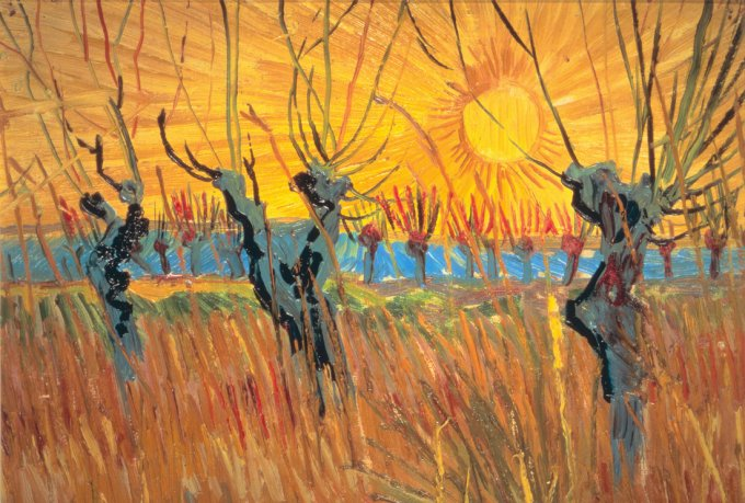 Willows at Sunset , 1888