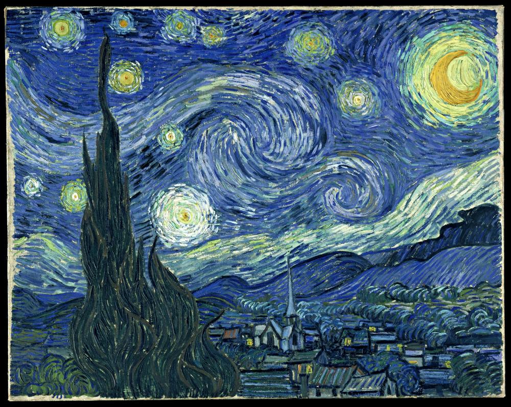 Starry Night , 1889