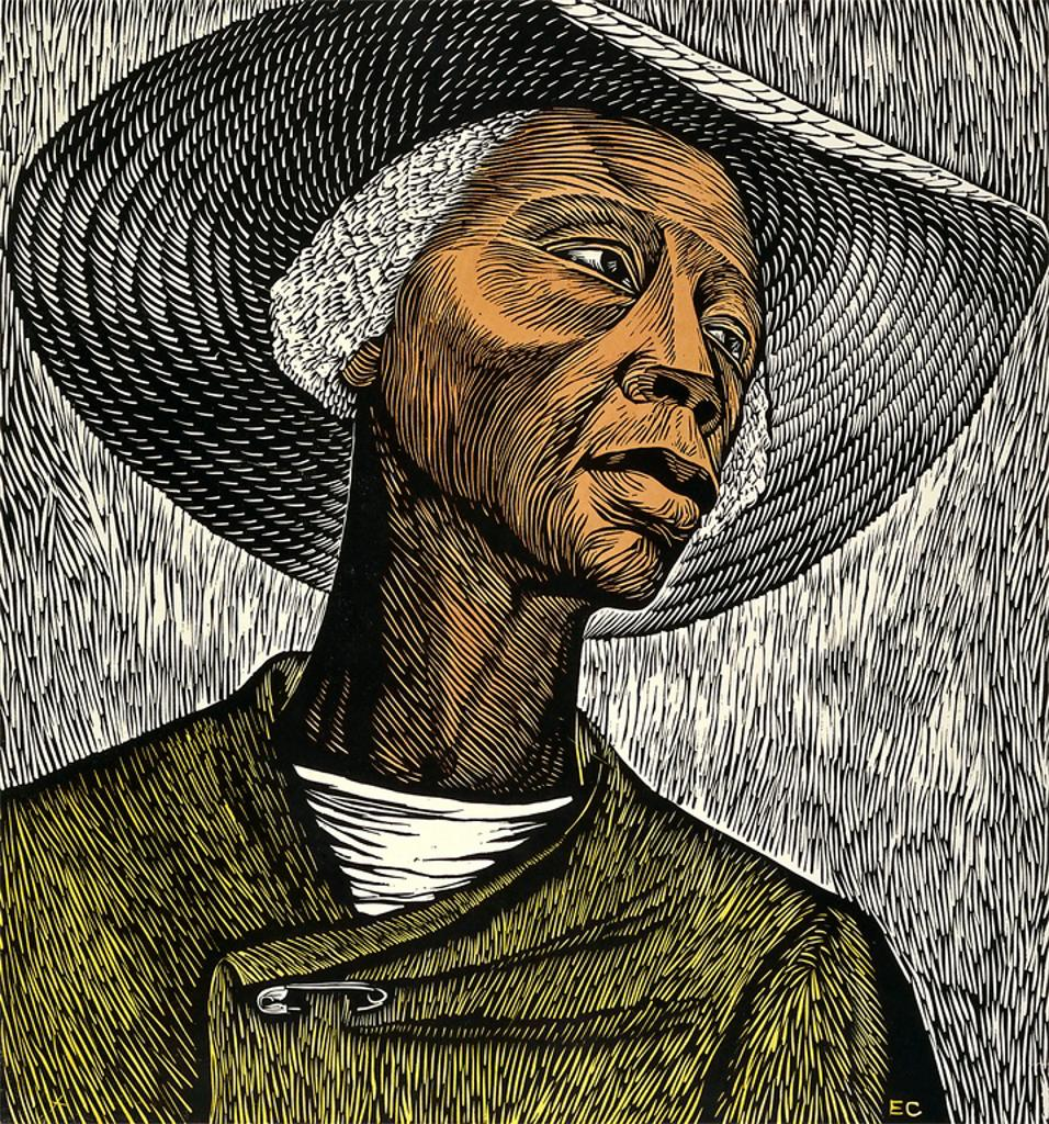 Elizabeth Catlett,  Sharecropper , 1970