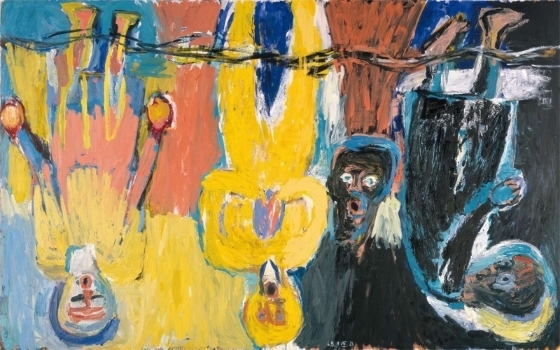 Georg Baselitz,  The Brucke Chorus , 1983
