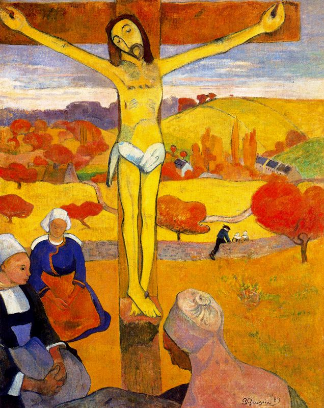 The Yellow Christ,  1889