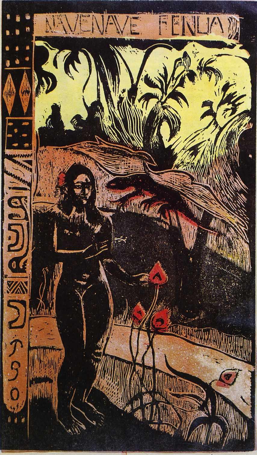 from Noa Noa , 1891-1893