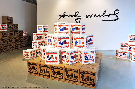 Andy Warhol,  Brillo Boxes , 1964
