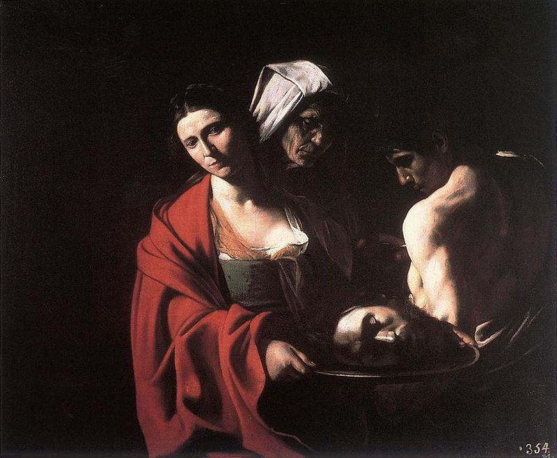 Salome with the Head of John the Baptist,  1609