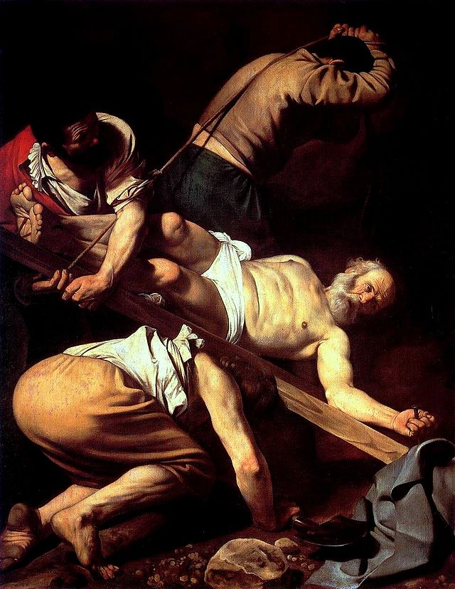 Crucifixion of St. Peter , 1601