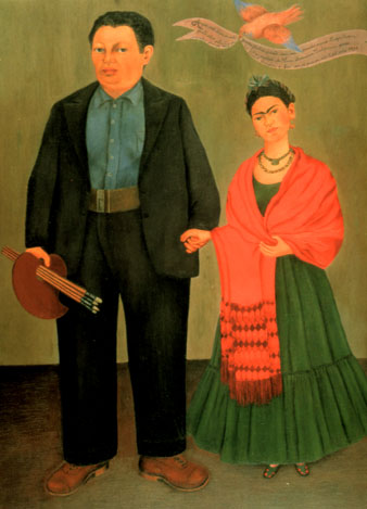 Frida and Diego Rivera , 1931
